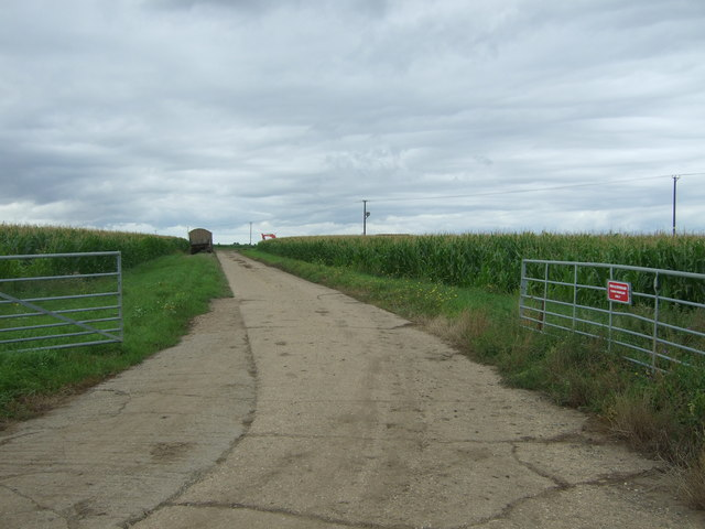 Farm track off Day's Lode Road