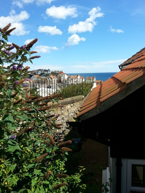 Pantiled roofs of Pittenweem