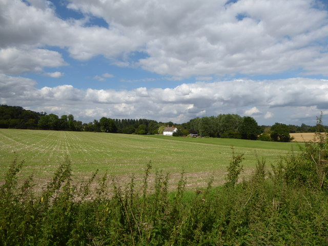 Park Cottages across the fields