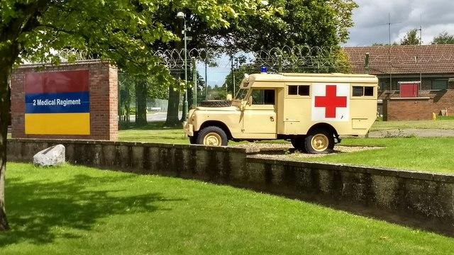 Gate Guardian Military ambulance