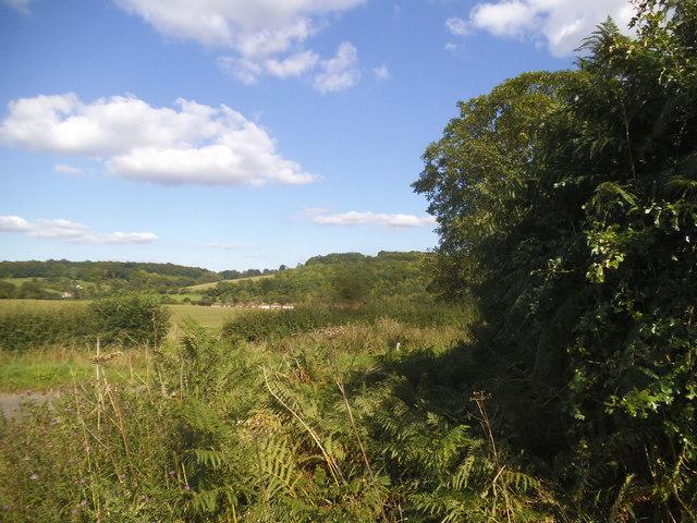 View from Speen Road, Hughenden Valley