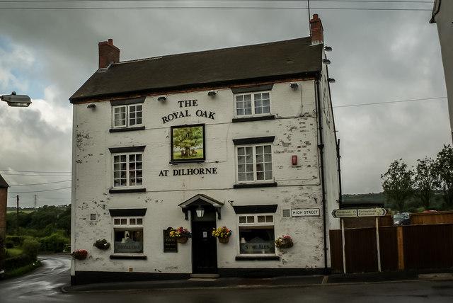 The Royal Oak Pub, Dilhorne, Caverswall