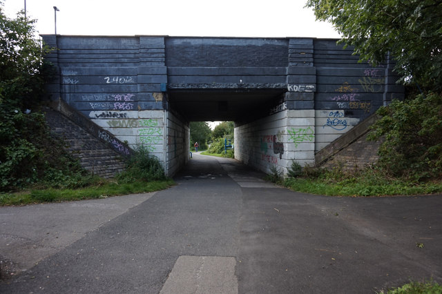 Sustrans at Melrosegate bridge