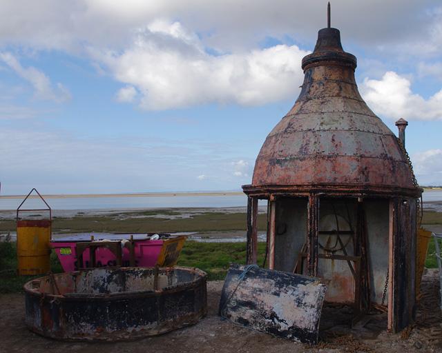 Plover Scar Lighthouse rebuilding