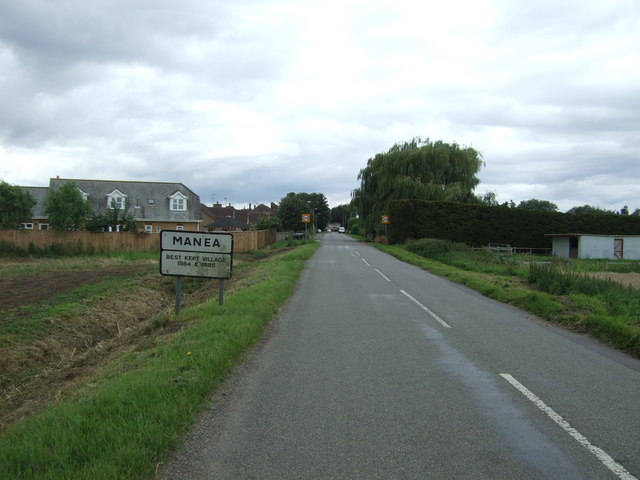 Entering Manea