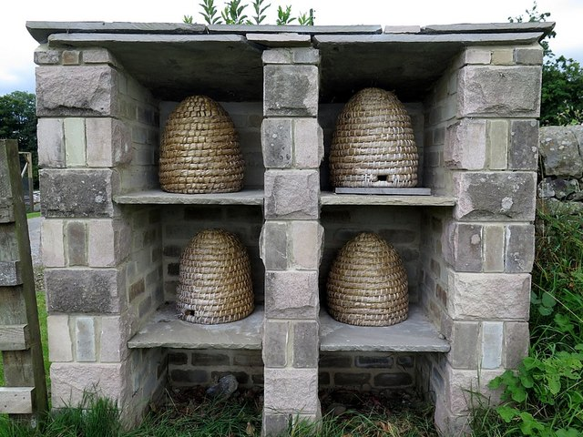 Coiled-straw skeps, Swanley Grange