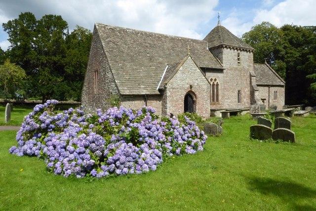Hewelsfield church