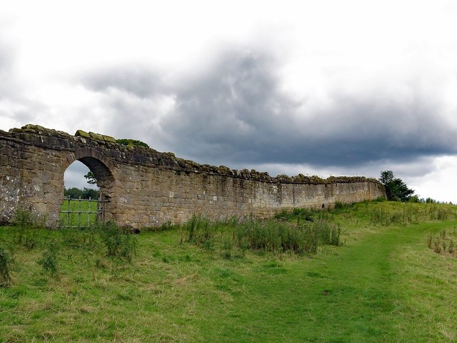 Abbey Wall at Kitchen Bank