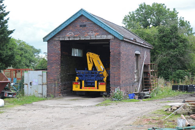 Former goods shed - Lower Leigh