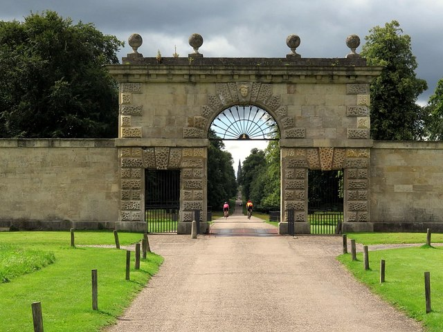 Studley Park, East Gate