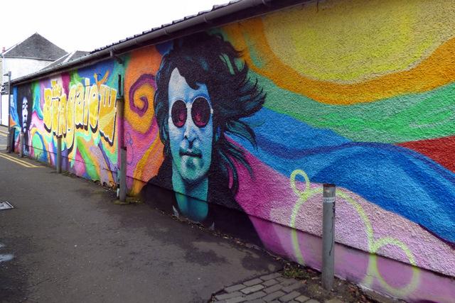 Murals on Browns Lane