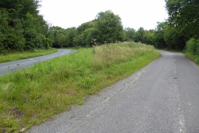 Layby on the B4228