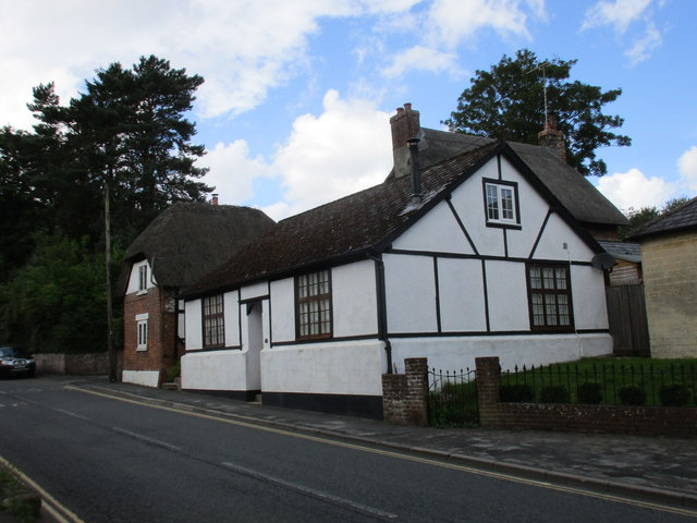 Houses in Church Street, Pewsey