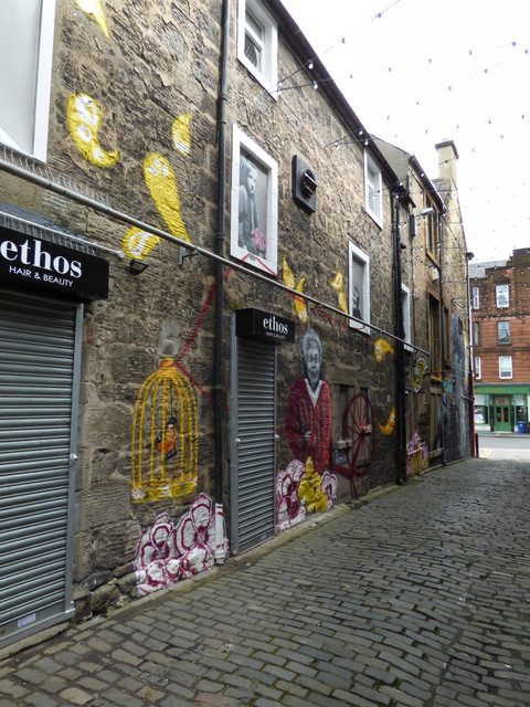 Murals on Browns Lane