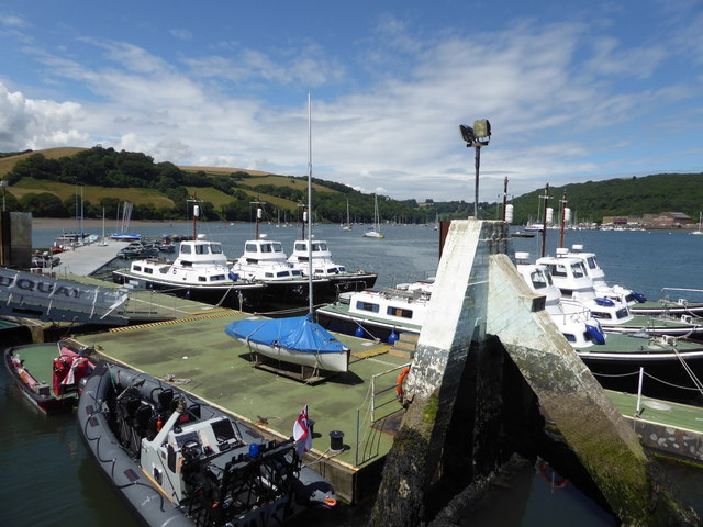 Britannia Royal Naval College - training vessels