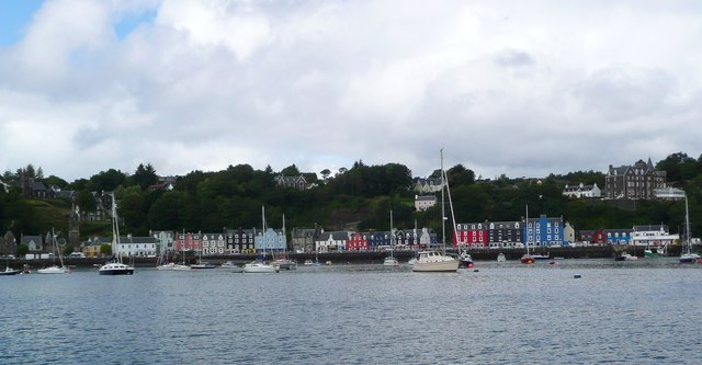 Tobermory waterfront