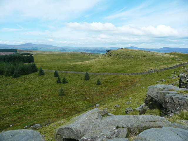View from Whelp Stone Crag, Rathmell