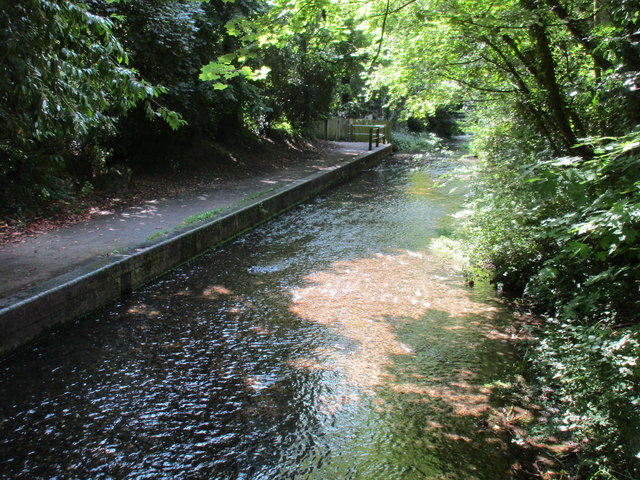 The River Avon at Pewsey