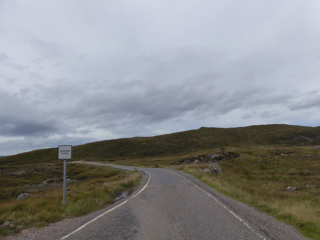 Road below Carn an Tiompain