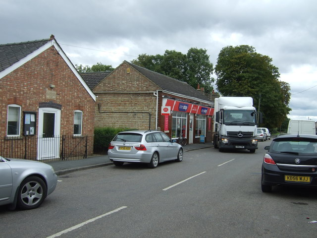 Post Office and shop, Manea