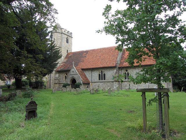 Little Wittenham church