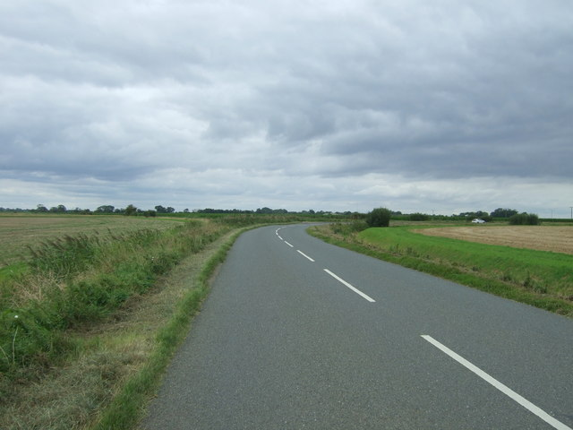 Bend in Byall Fen Drove