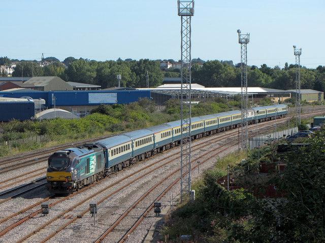 Railtour at Pengam
