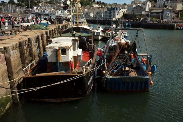 Fishing boats, Brixham