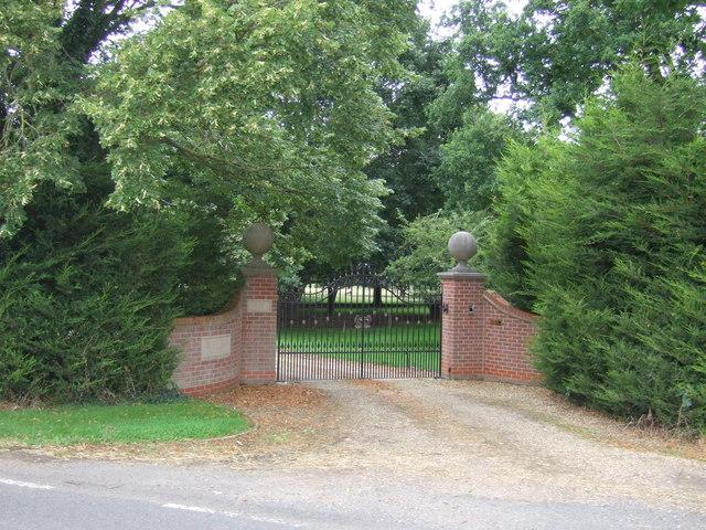 Gateway to Highfield House