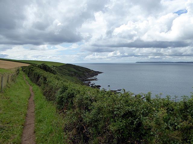 Heading south on the South West Coast Path