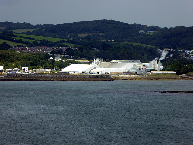 Par china clay dries and harbour