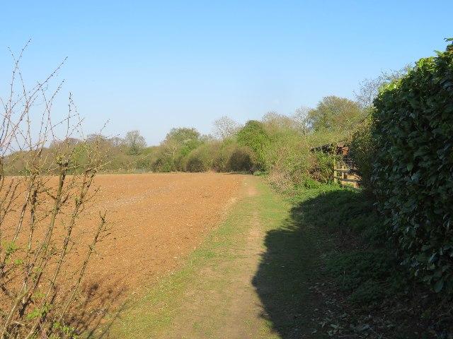 Permissive path - St John's Field