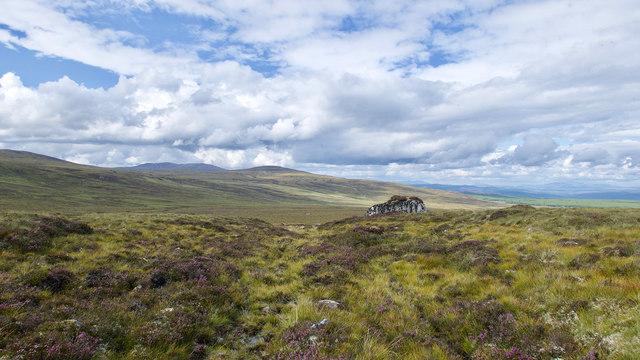 Clach Goil - a glacial erratic