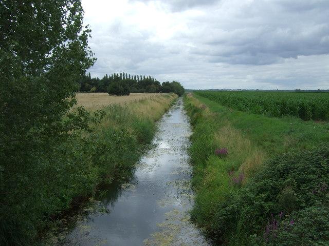 Drain off Long North Fen Drove