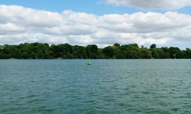 Park Bight navigation buoy, River Orwell