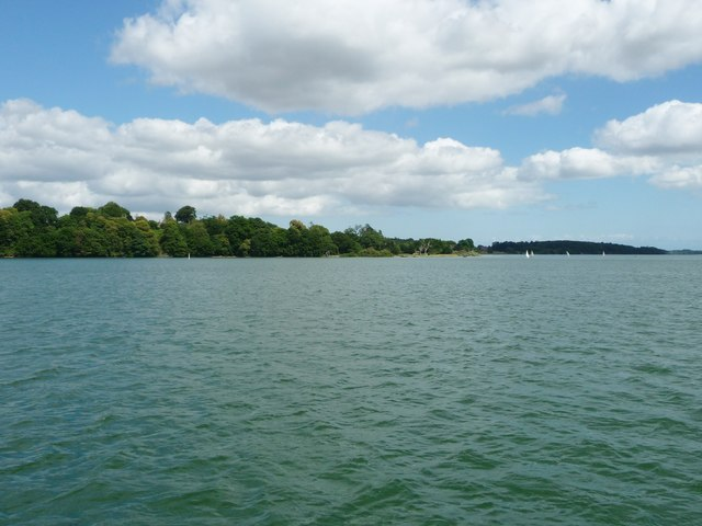 Nacton Quay, River Orwell, close to high tide