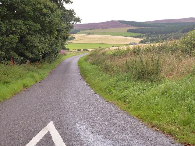 Road to Milton of Migvie
