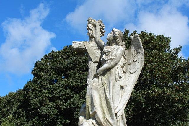 Angel at Shewalton Cemetery