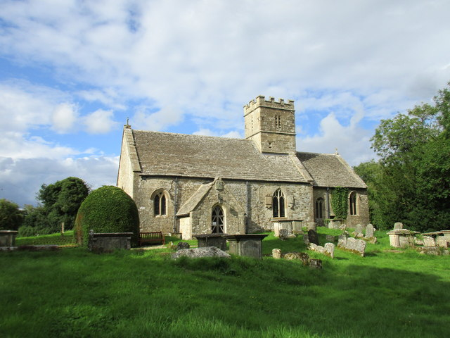The church of St. Michael and All Angels, Brimpsfield