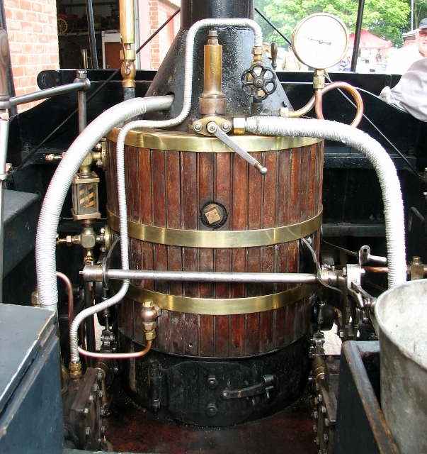 The Soame Steam Wagonette - the boiler
