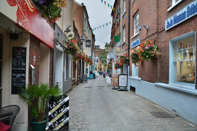 Exeter : Gandy Street