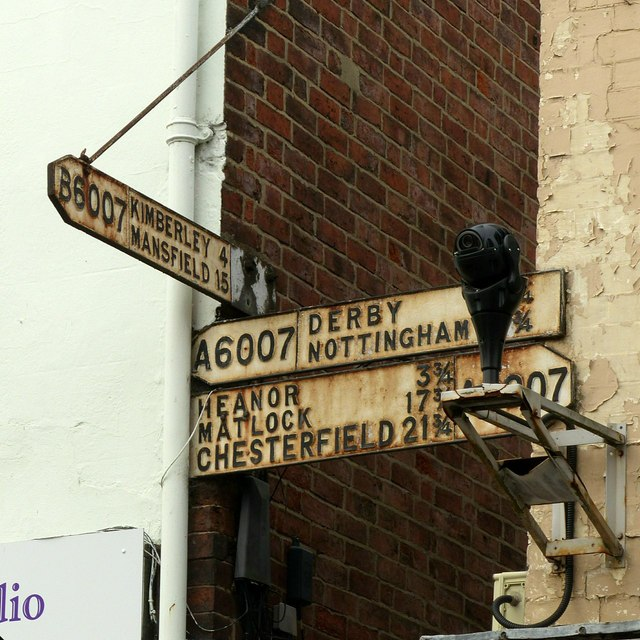 Fingerpost, Bath Street, Ilkeston