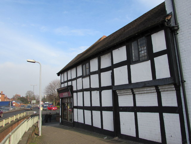 Black and white building, Gunners Lane, Hereford