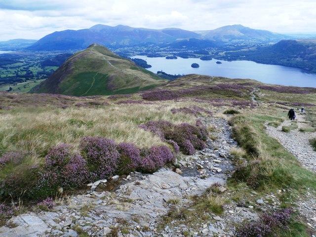 Footpath on Maiden Moor