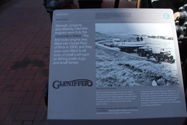 History of the Gleniffer Engine