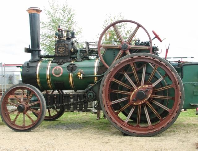 "Wallis & Steevens Traction Engine ""Wanda"""