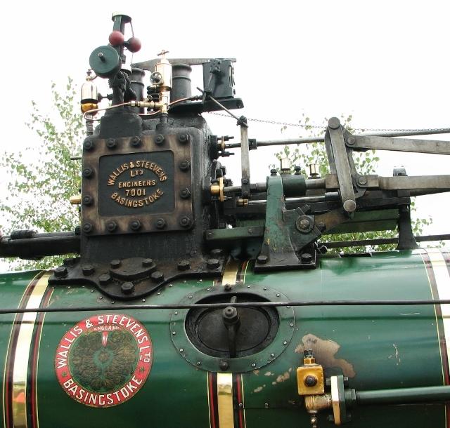 "Wallis & Steevens Traction Engine ""Wanda"" - detail"