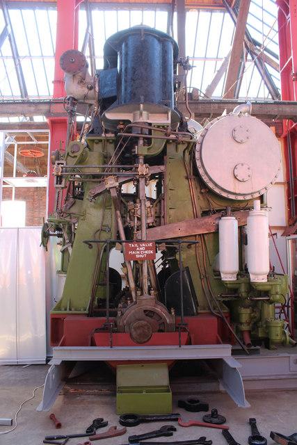 The Flying Buzzard Steam Engine