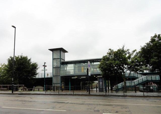 St Peter's Metro Station, Sunderland