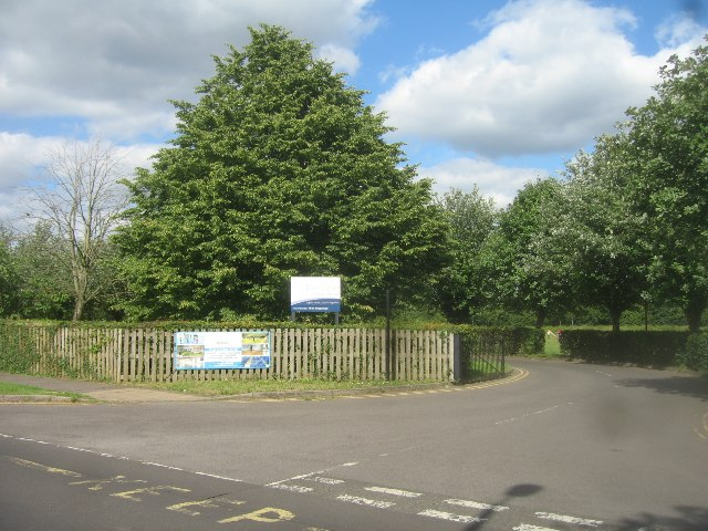 The Vyne School entrance